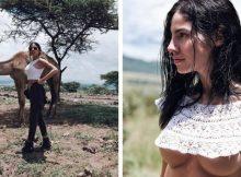 Giulia De Lellis, il safari in Africa